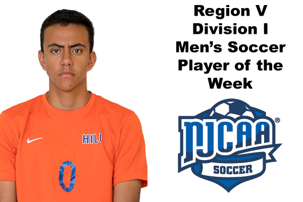 Region V Division I Men's Soccer Player of the Week (Oct. 9)