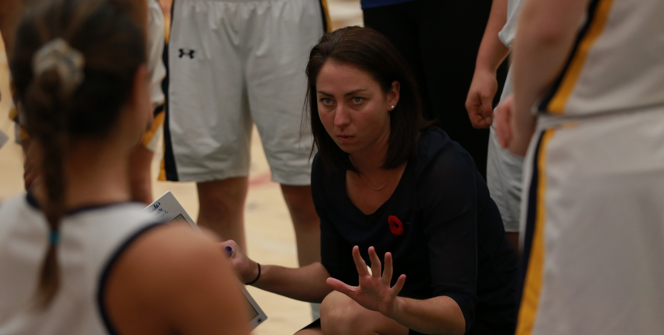 For the second straight off-season Claire Meadows will work with Basketball Canada