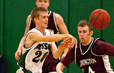 Colby Men's Basketball Holds Off Husson, 56-54 - Husson