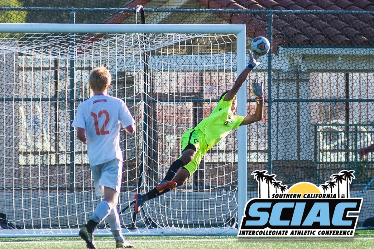 Como Named Men's Soccer SCIAC Newcomer of the Year