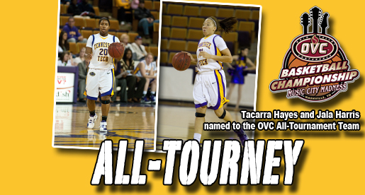 Hayes and Harris named to OVC All-Tournament Team