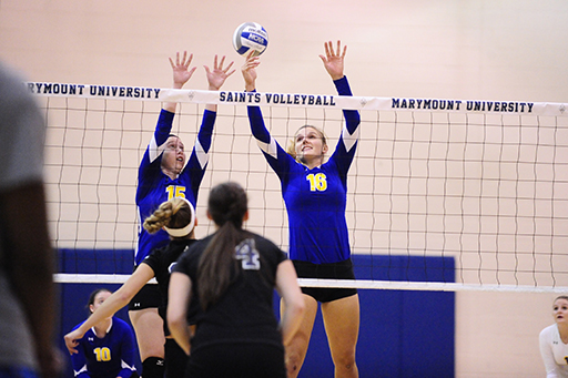 Goucher Ends Season with Three-Set Loss to Owls