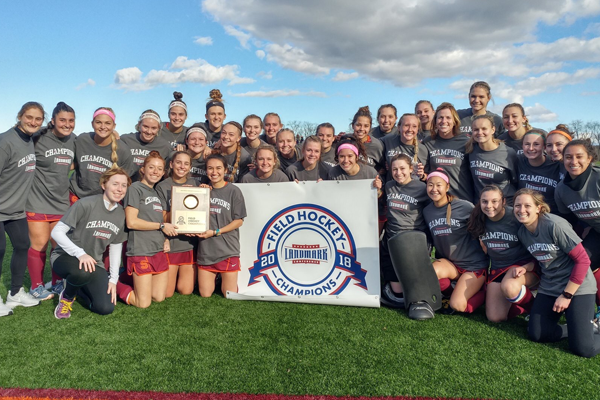Susquehanna Wins First-Ever Landmark Field Hockey Title