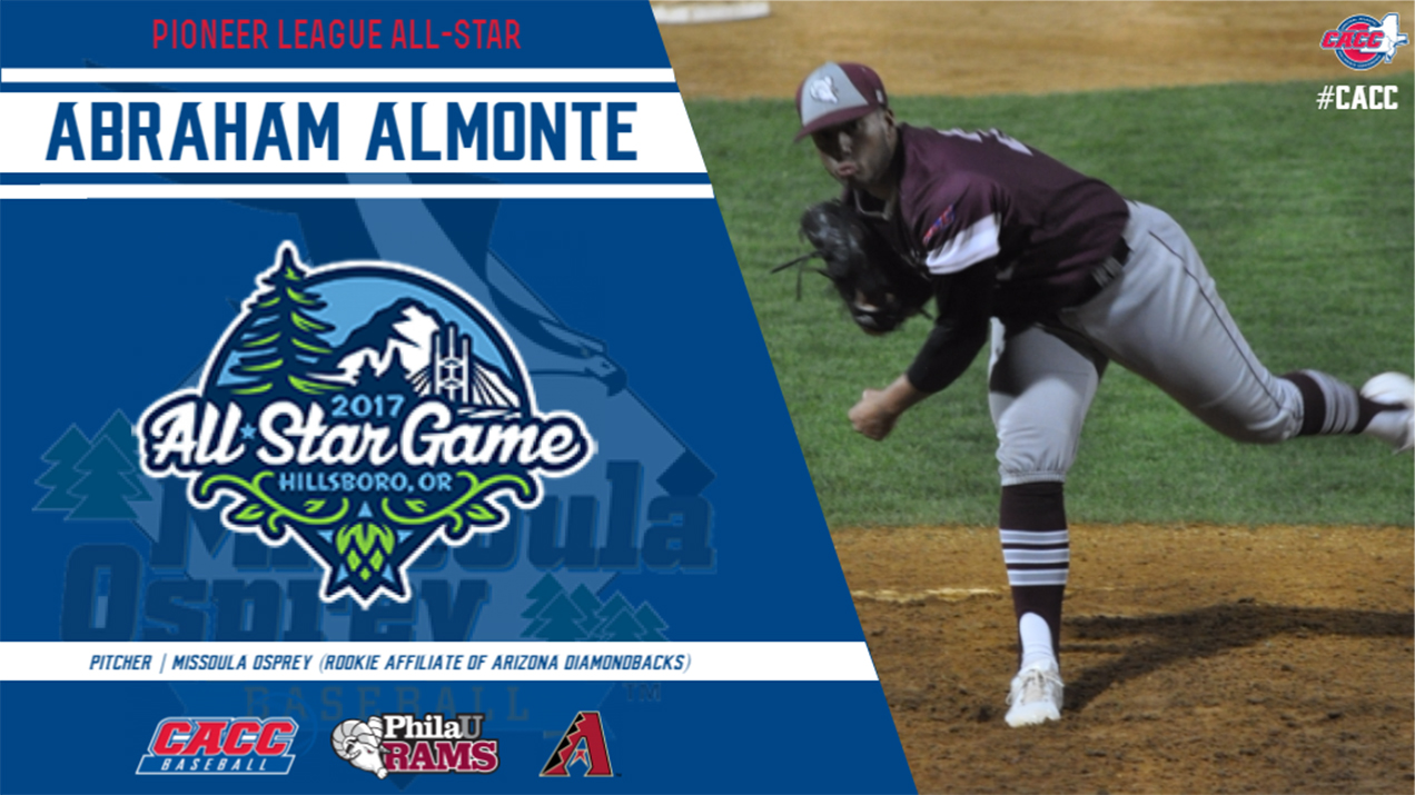 Former Ram Baseball Standout Abraham Almonte Named Pioneer League All-Star