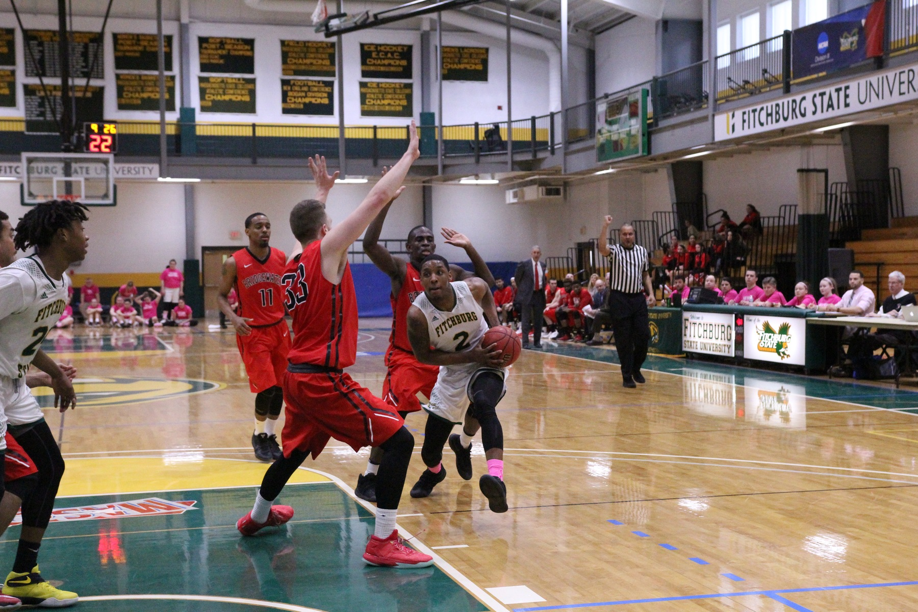 Fitchburg State Posts 84-70 Win over Worcester State in MASCAC Action