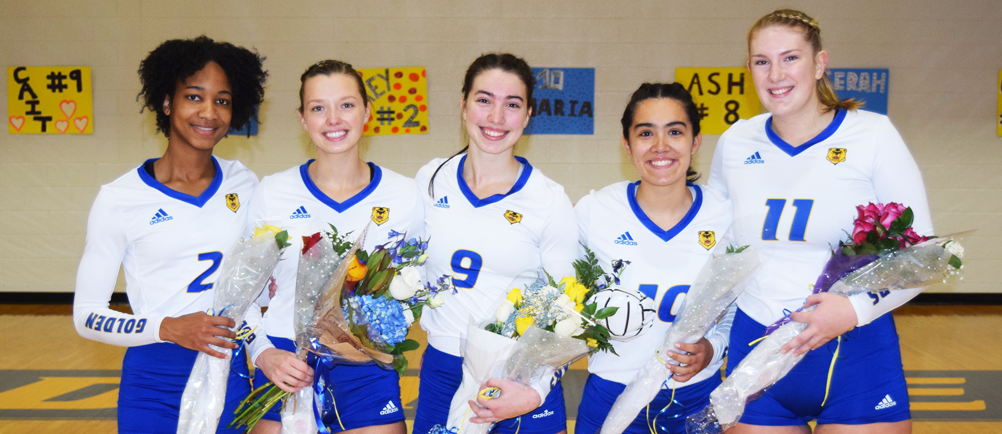 Volleyball Comes up Short Against Roger Williams on Senior Day, 3-1