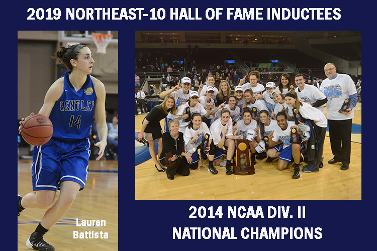 Battista & 2014 Bentley Women's Basketball Team Tabbed for Northeast-10 Hall of Fame
