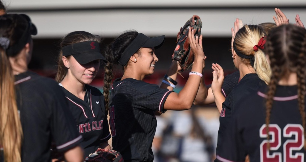 Softball Plays at San Diego in Weekend Series