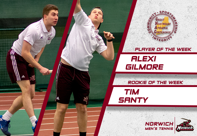 Alexi Gilmore and Tim Santy GNAC Weekly Awards