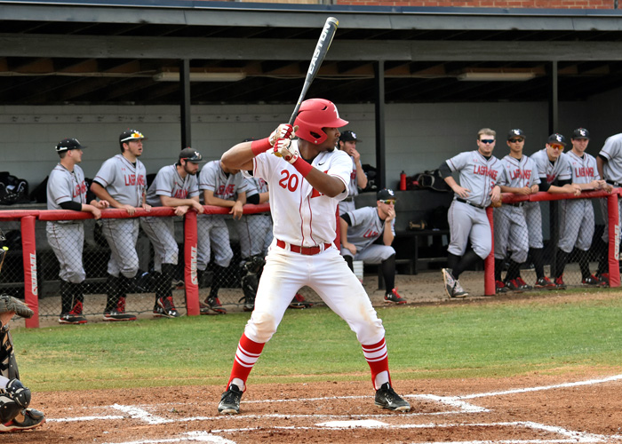 Anthony Spivey hit a solo home run in Saturday's loss to Methodist.
