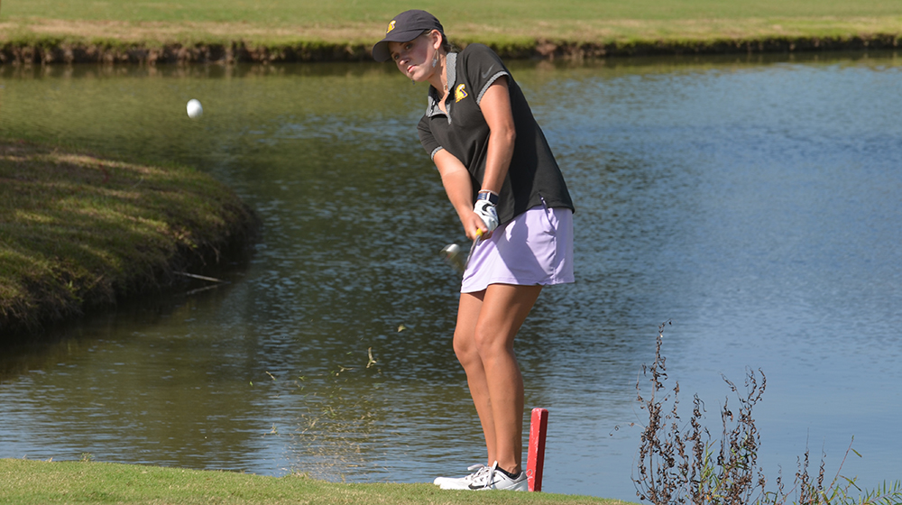 Golden Eagle women's golf team finishes 13th at EKU Colonel Classic
