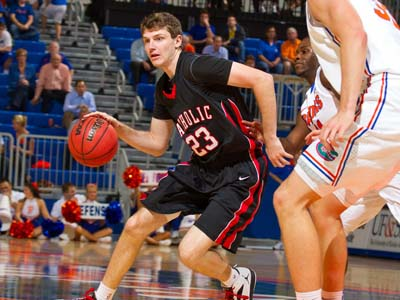 CUA moves to 7-0 with 81-72 win over DeSales