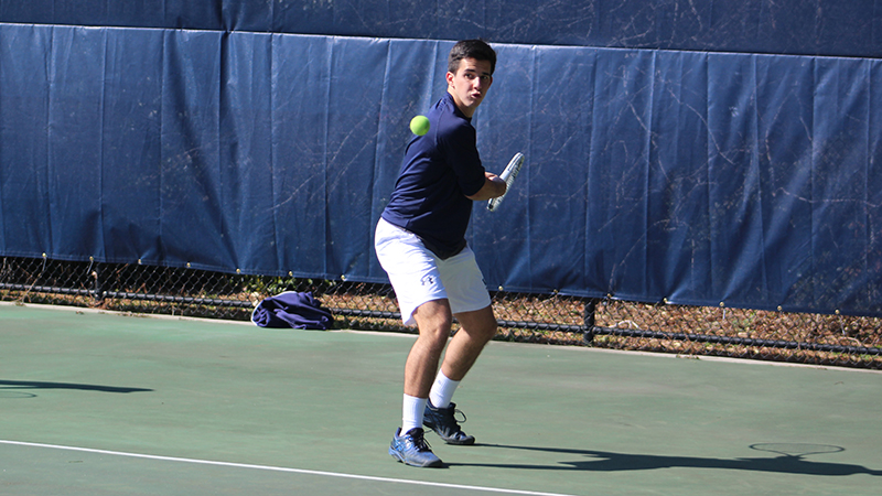 Tennis Action Continues on Day 2 of Marlin Invite