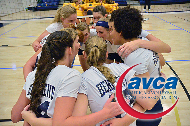 Women's Volleyball Honored by AVCA