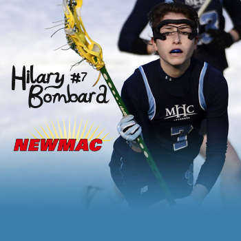 Bombard Nabs NEWMAC Lacrosse Player of the Week Honors