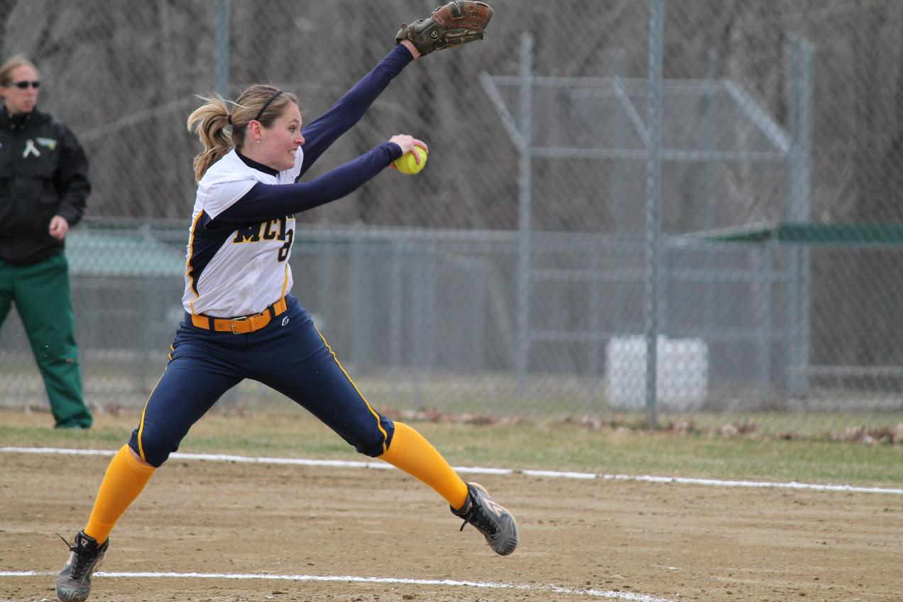 MCLA wins sixth straight, sweeps rival Westfield in Softball