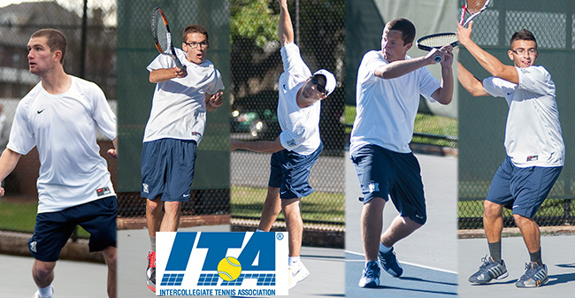 Men's Tennis Earns ITA All-Academic Team Honors; Five Greyhounds Named ITA Scholar-Athletes