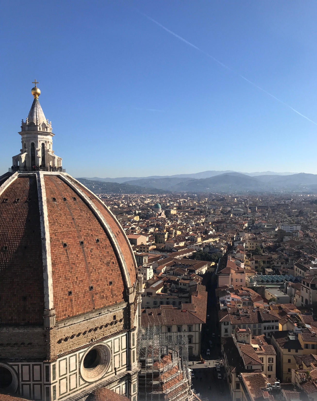 View of Florence From Bell Tower