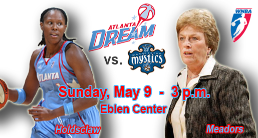 Atlanta, Washington to play WNBA exhibition game in Eblen Center May 9