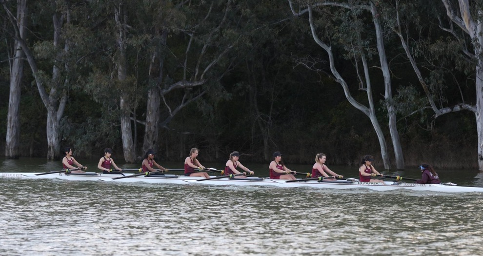 Season Begins for Women's Rowing Sunday Against Mills College
