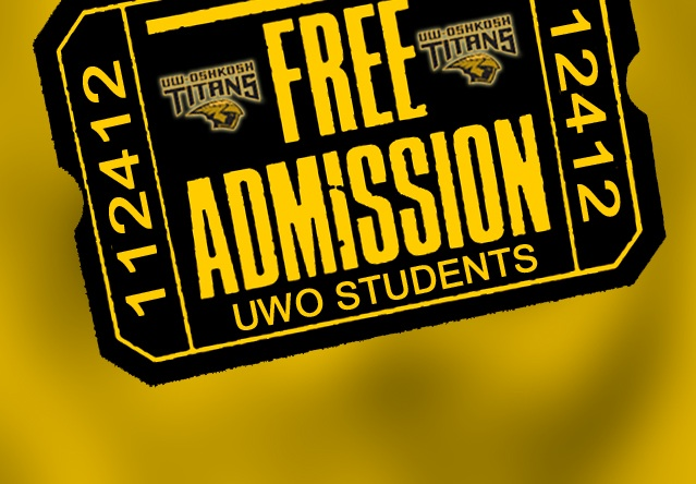Free NCAA Football Tickets For UW-Oshkosh Community
