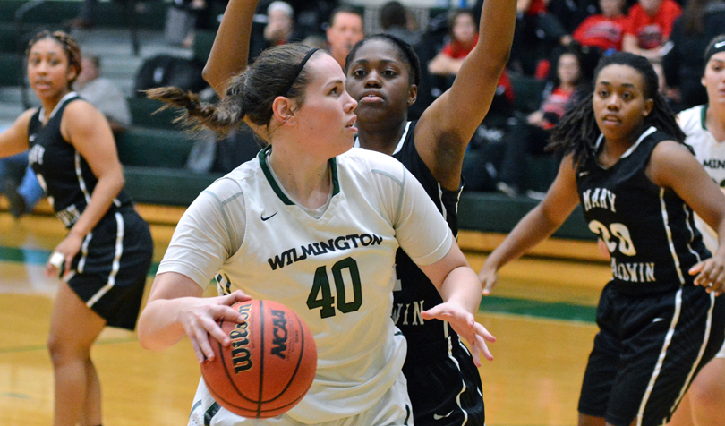 Basketball tops Saint Mary's College in opening game of the Julie Costello Memorial Classic