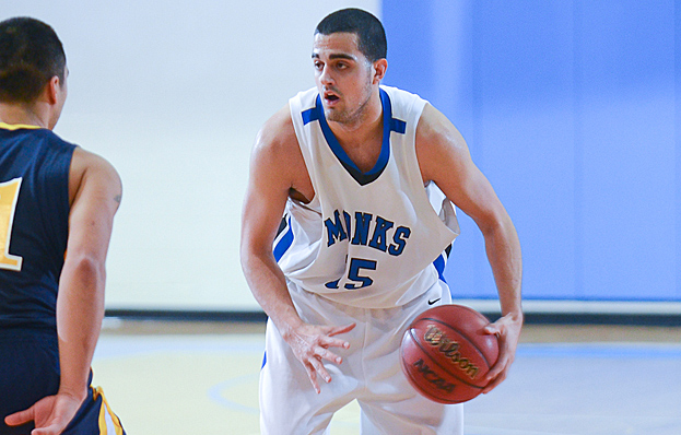Monks Improve to 6-1 with 84-67 Win Over Suffolk University