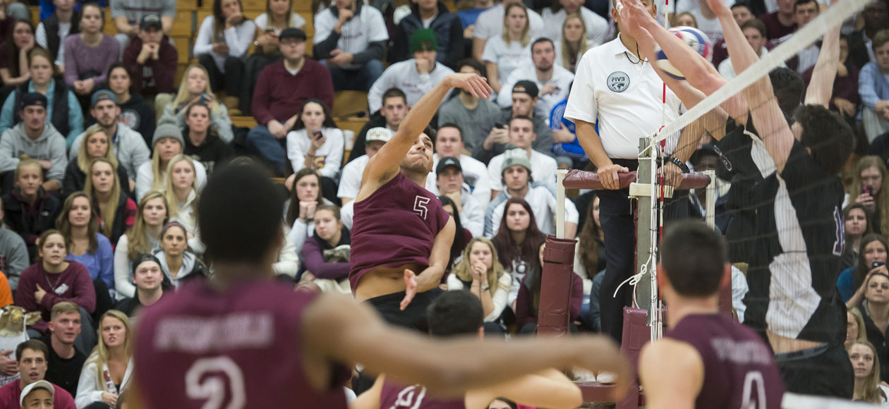 No. 1 Men's Volleyball Blanks Baruch In Straight Sets