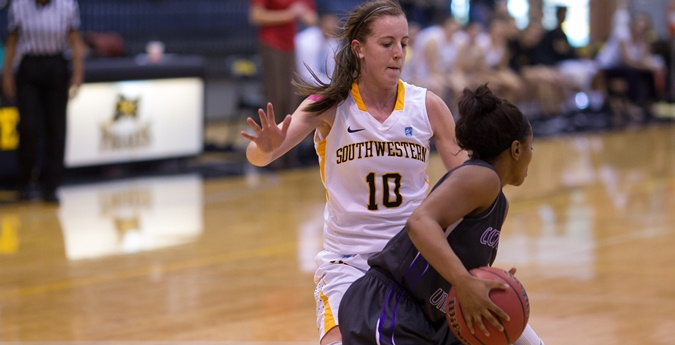 Women's Basketball Drops First Conference Game