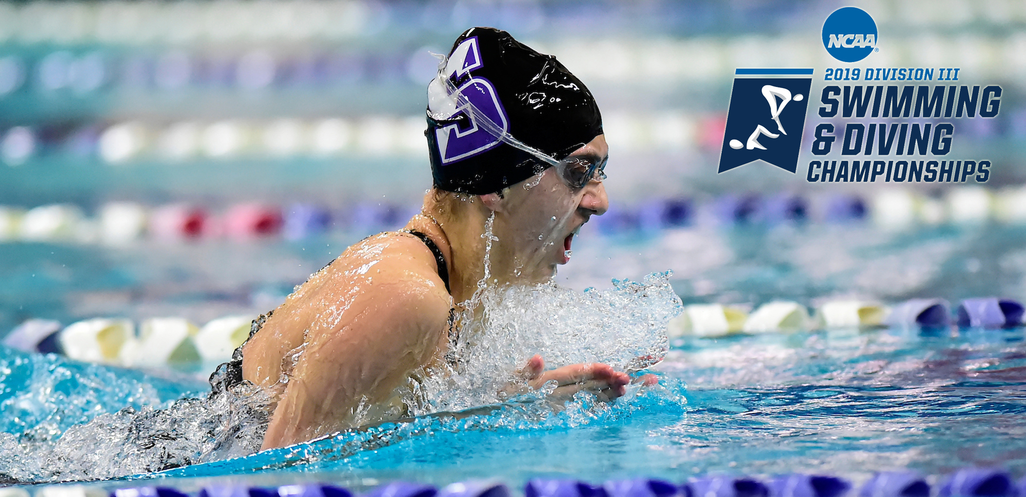 Sophomore Audrey Campo will compete in three events at the 2019 NCAA Division III Swimming & Diving Championships, which begin Wednesday in Greensboro, N.C.