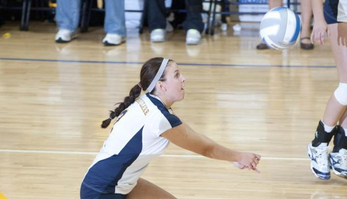 Volleyball Drops Two on Second Day of Invite