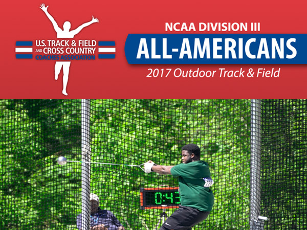 Ewa Named Outdoor Track & Field All-American