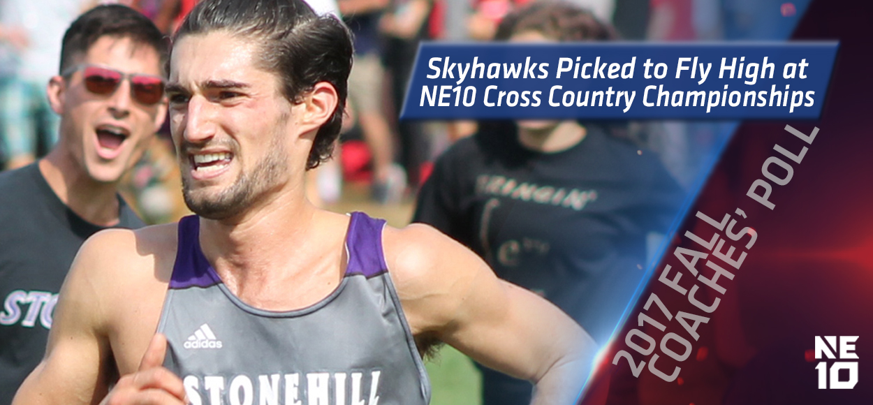 Stonehill Picked to Win Both Men's and Women's Titles at NE10 Cross Country Championships