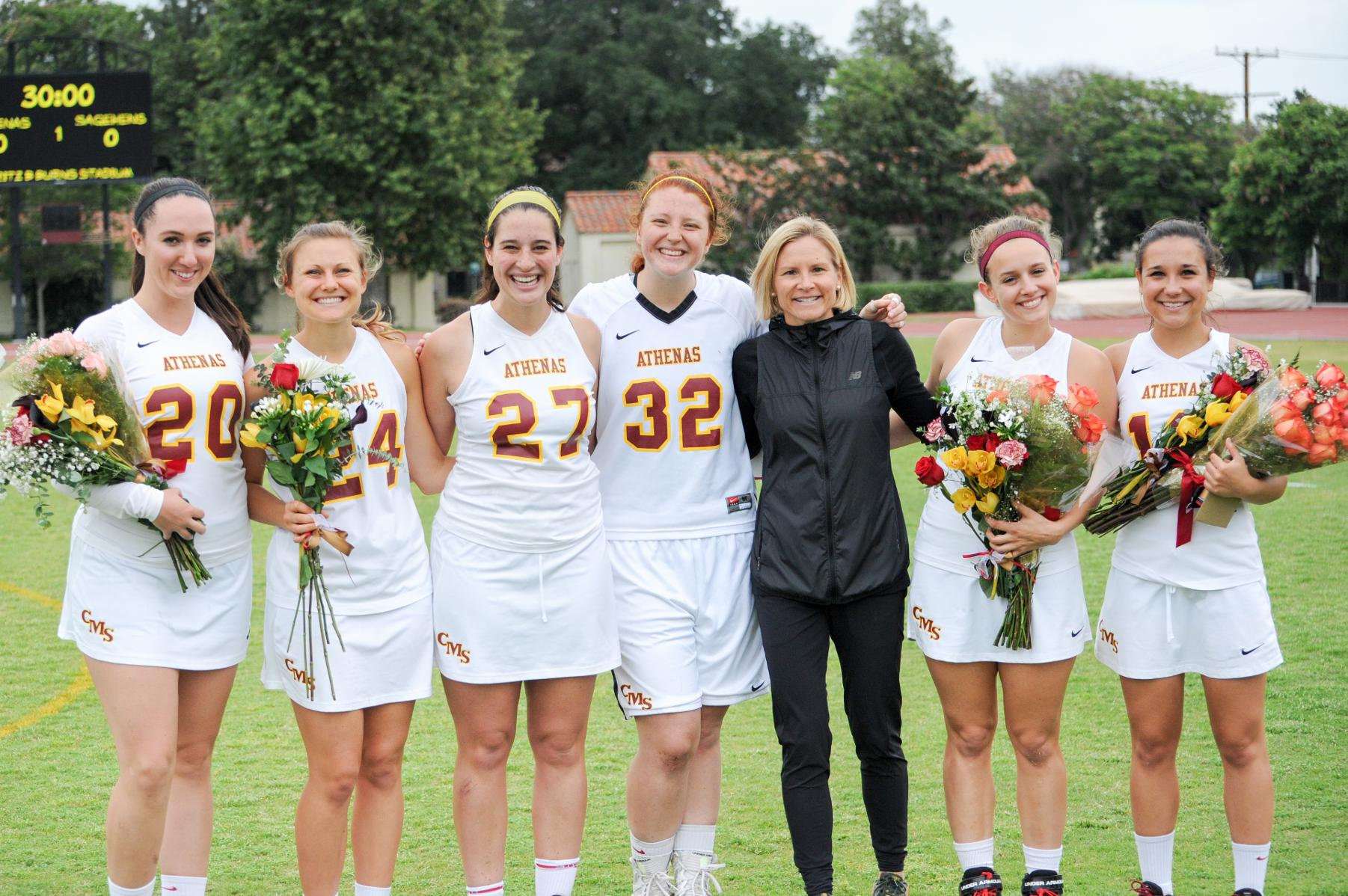 Career high saves for Anello on Senior Day in 12-6 loss to Sagehens