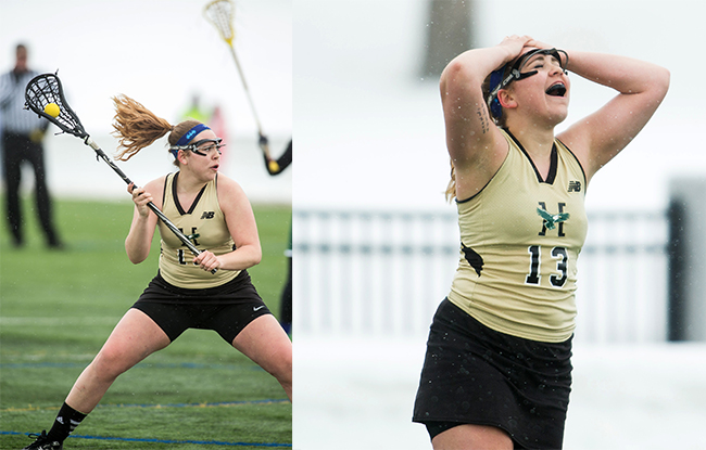 Staab Scores School-Record Eight Goals to Lead Women's Lacrosse Over Johnson St. 16-5