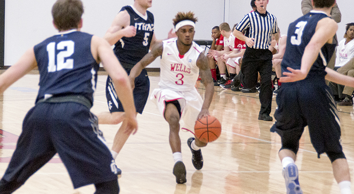 Men's Basketball Toppled By Undefeated Swarthmore