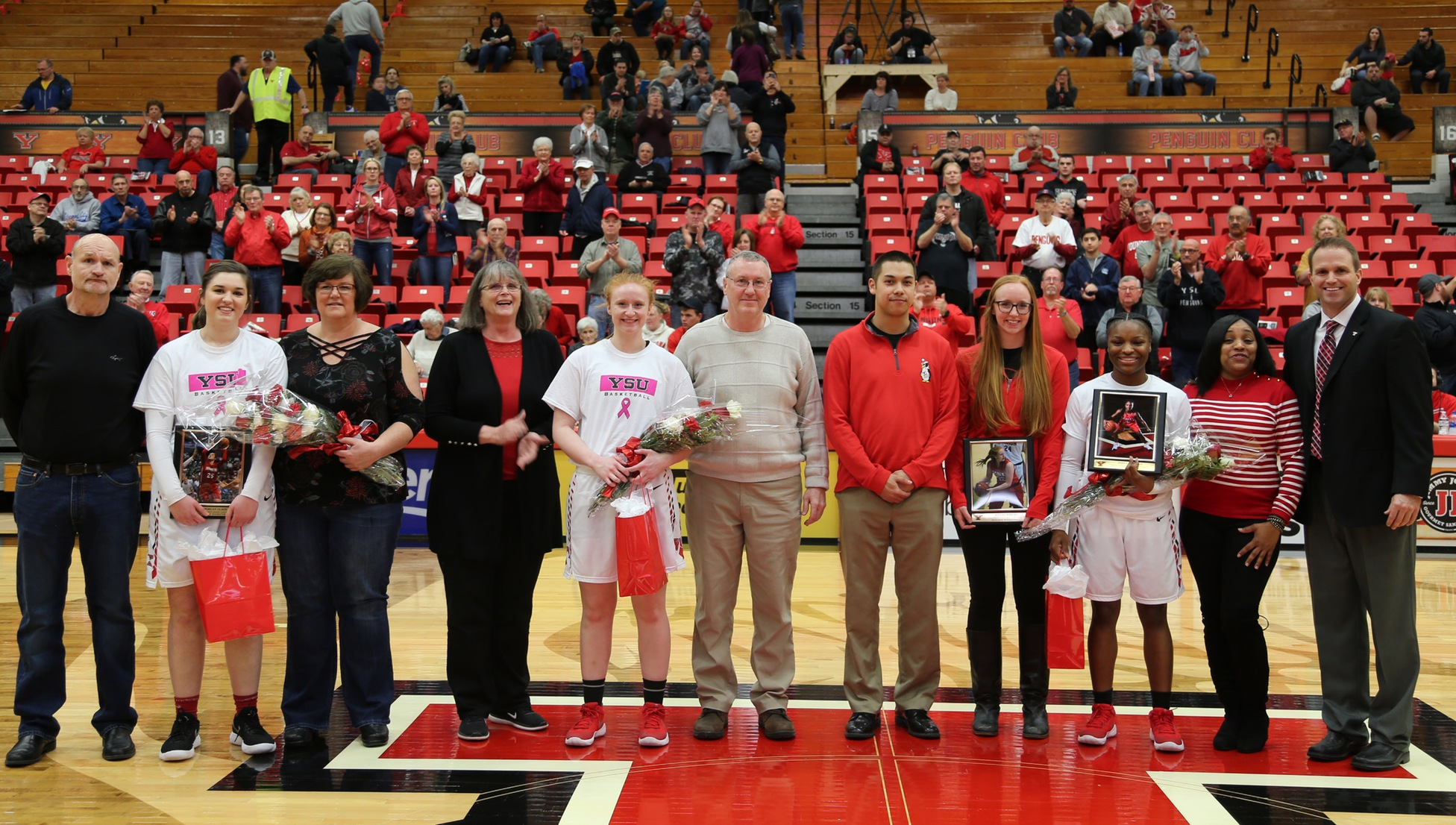 Youngstown State Women's Basketball Senior Day: 2017-18