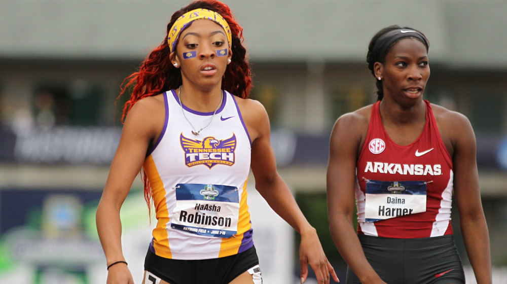 Robinson places 15th in NCAA Track and Field Championship Semifinals