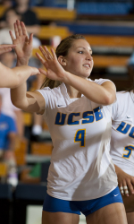 Down 2-0, Eight Points in Set 3, Gauchos Rally for Big Win Over #21 Irvine