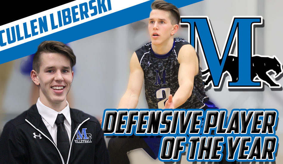 Liberski named MCVL Defensive Player of the Year
