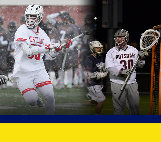 Haggerty and Sheridan selected as Men's Lacrosse Athletes of the Week
