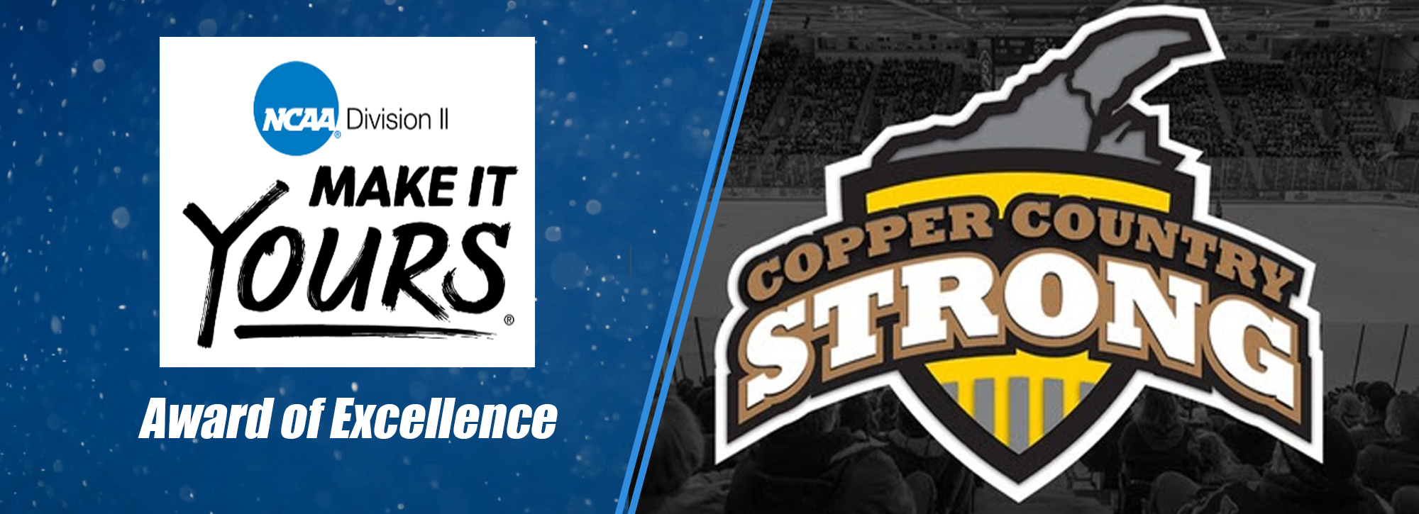 MTU's Copper Country Strong is named DII Award of Excellence finalist