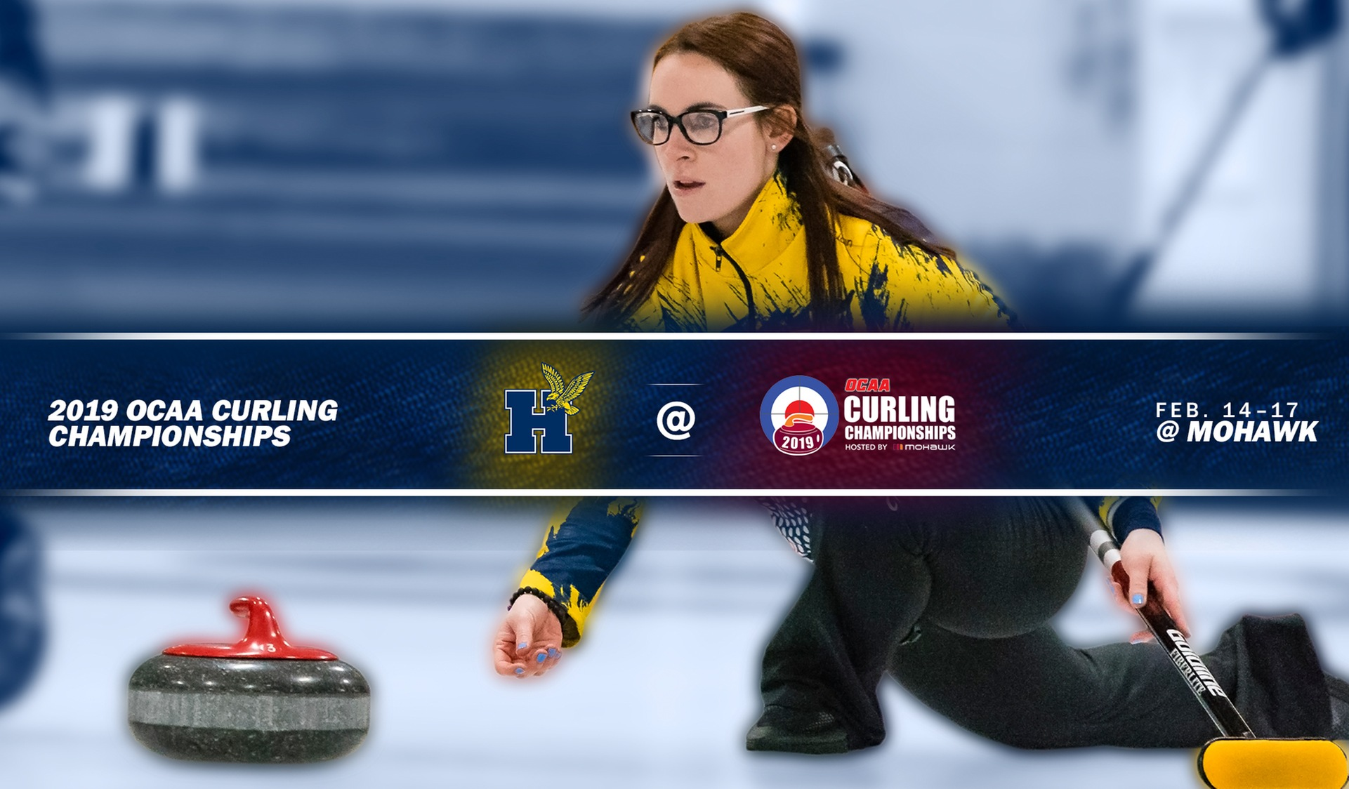 CURLERS ON ICE THIS WEEKEND AT OCAA CHAMPIONSHIPS IN HAMILTON