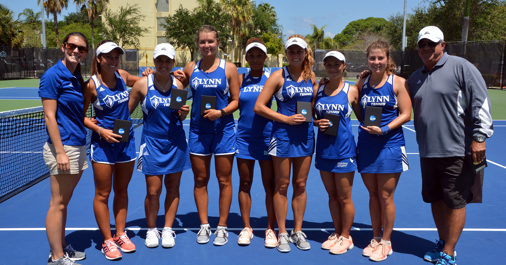 Three-for-Three; Women's Tennis Topples Rival Barry in NCAA South Region 2 Final
