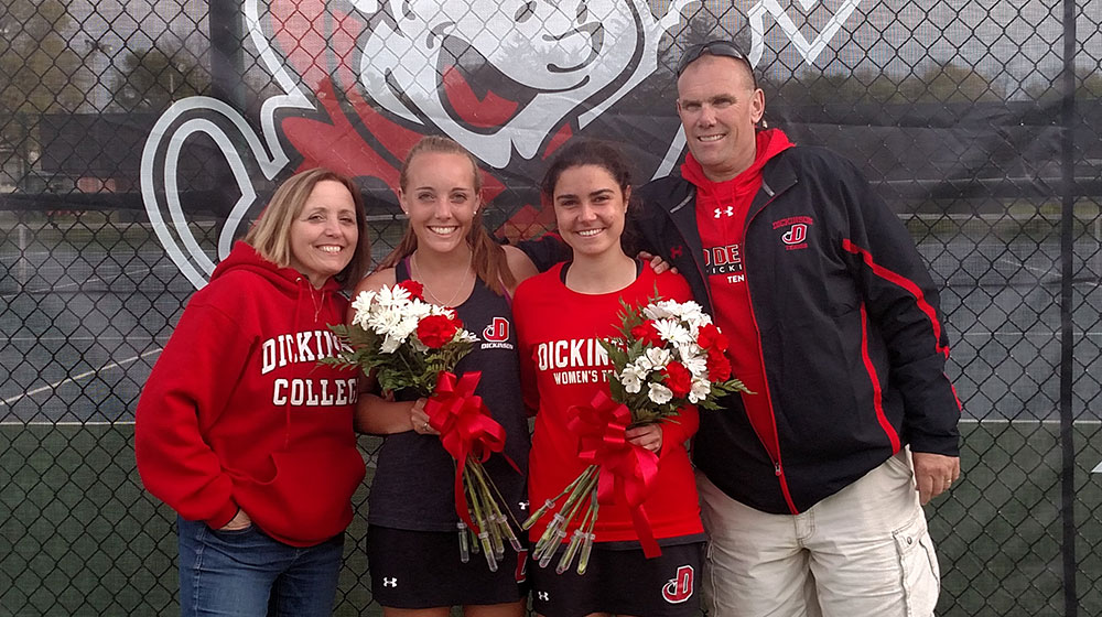 Parks Wins Pair on Senior Day