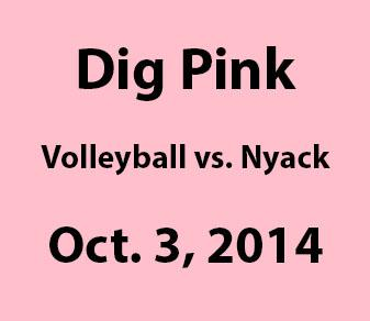"Volleyball Team To Sponsor Fifth Annual ""Dig Pink"" Night For Breast Cancer Awareness"