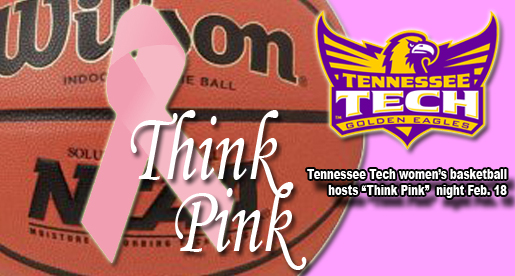 Women's basketball to host Think Pink Night Feb. 18 in Eblen Center