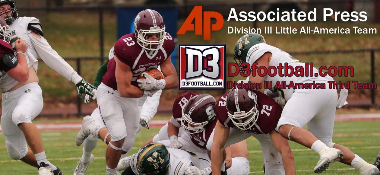 Wilcox Awarded With Associated Press and D3football.com All-America Honors