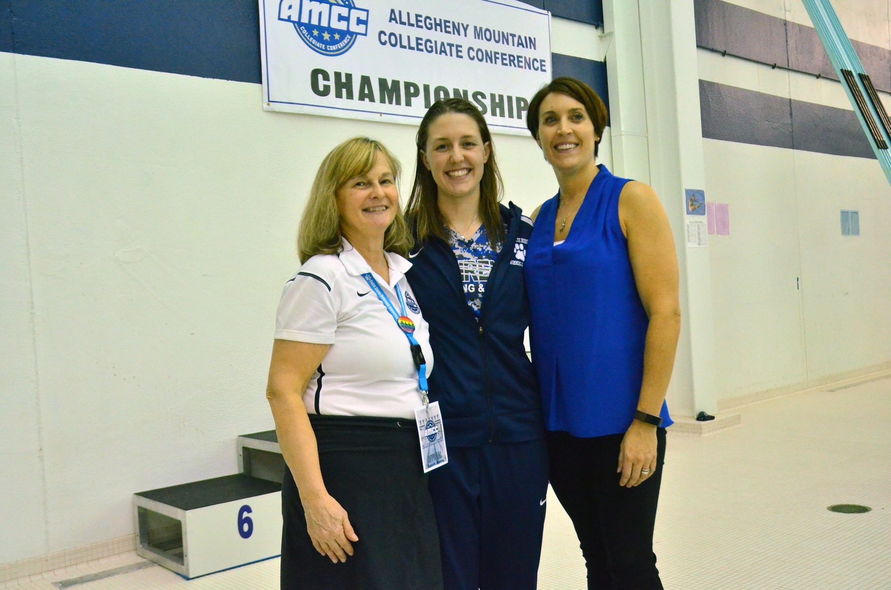 Lowery Headlines All-AMCC Women's Swimming and Diving Team