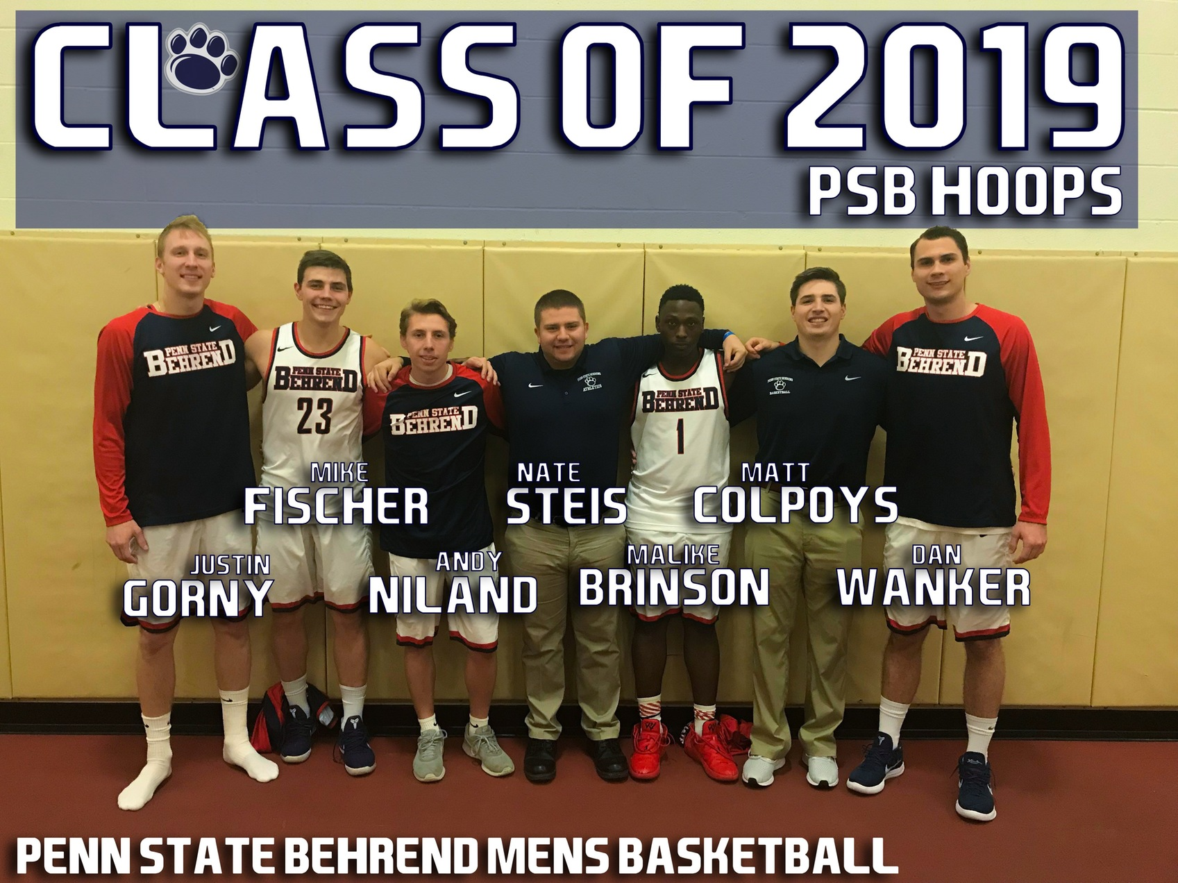 Behrend Lions Host Medaille for Senior Night Wednesday